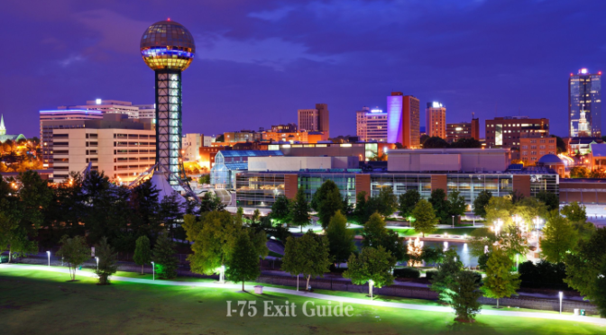 Knoxville, Tennessee | I-75 Exit Guide