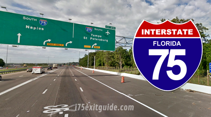 Lane Closures, Traffic Shifts for I-75 Construction in Tampa Bay Area