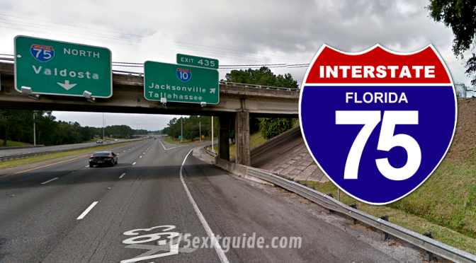 Traffic Impacts for I-75 Construction in Northern Florida
