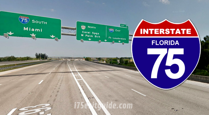 Lane, Ramp Closures Mean Detours for I-75 Travelers in Southern Florida This Week