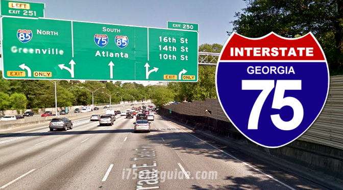Expect Night Detour For I-75 Construction in Georgia