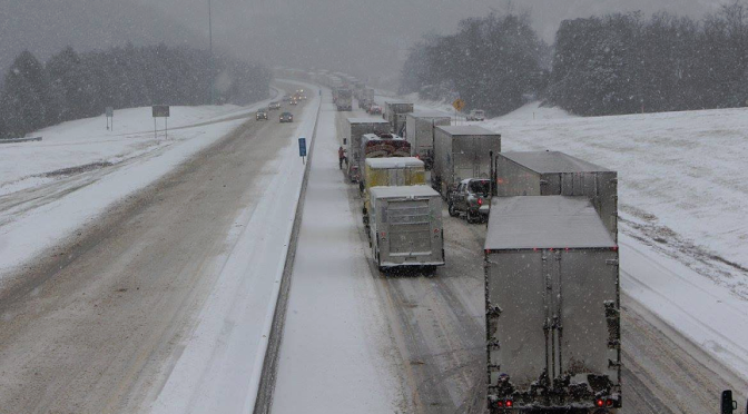 Tennessee Dealing With Significant January Winter Storm