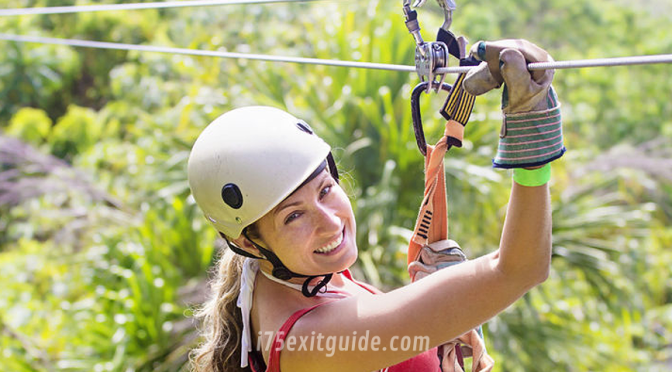 Tampa Bay Zip Line | I-75 Exit Guide