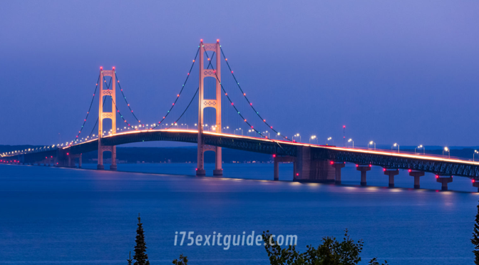 Mackinac Bridge Michigan | I-75 Exit Guide