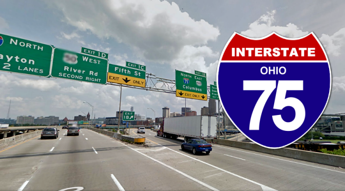 Single Lane Restrictions for I-75 Pavement Repair in Ohio This Week