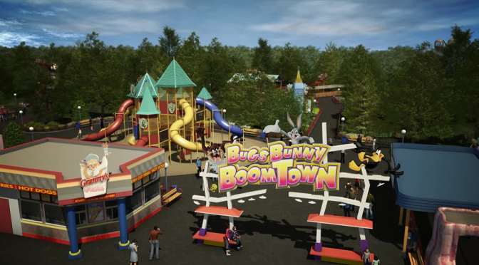 Six Flags Over Georgia Adds New Themed Areas for 2016